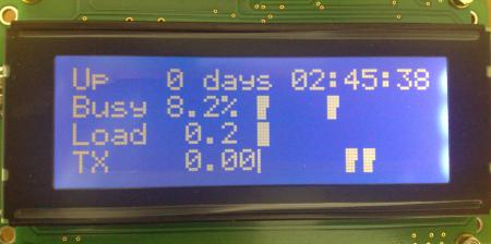 Подключение LCD дисплея к роутеру ASUS WL-500gP