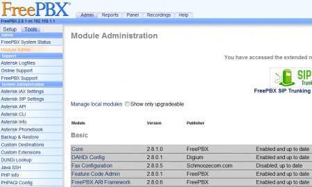 Установка Asterisk с веб интерфейсом FreePBX и модемом Huawey E1550 на Ubuntu 10.10